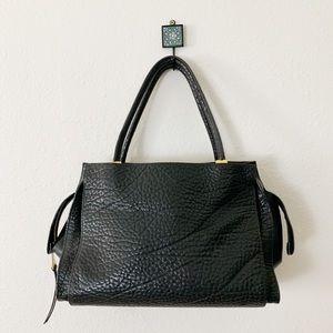 Chloe Dree Black Pebbled Leather Bag